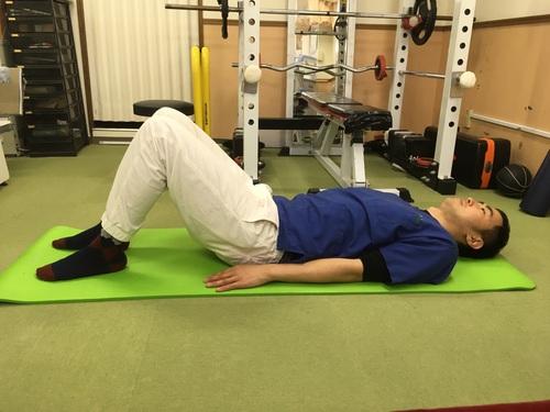 反り腰改善 ~大殿筋トレーニング~
